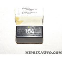 Relais telerupteur calculateur capote commande hydraulique Volkswagen Audi Skoda Seat original OEM 155919603 pour volkswagen gol