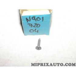 Vis fixation usage divers Volkswagen Audi Skoda Seat original OEM N90172004