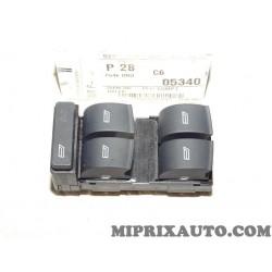 Platine boutons commande leve vitre electrique Volkswagen Audi Skoda Seat original OEM 8Z0959851B5PR