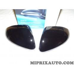 Paire coques calotte retroviseur noir brillant Volkswagen Audi Skoda Seat original OEM 5G0072530A pour volkswagen golf 7 VII par