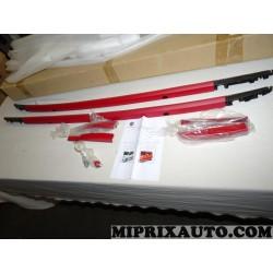 Paire barres de toit longitudinale rouge Fiat Alfa Romeo Lancia original OEM 50926777 pour fiat panda 3 4 III IV partir de 2012