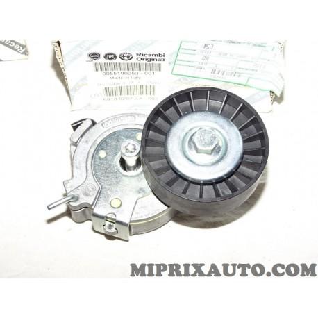 Galet tendeur courroie accessoire Fiat Alfa Romeo Lancia original OEM 55190053