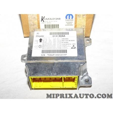 Centrale calculateur tension ceinture de sécurité Mopar Jeep Dodge Chrysler original OEM CAA3L013AB 68148363AA pour chrysler gra