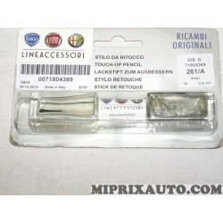 Stylo retouche peinture 261/A PKG 28/10/13 Fiat Alfa Romeo Lancia original OEM 71804369 (sans reclamation)