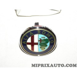 Logo motif embleme ecussion badge hayon de coffre Fiat Alfa Romeo Lancia original OEM 50531454
