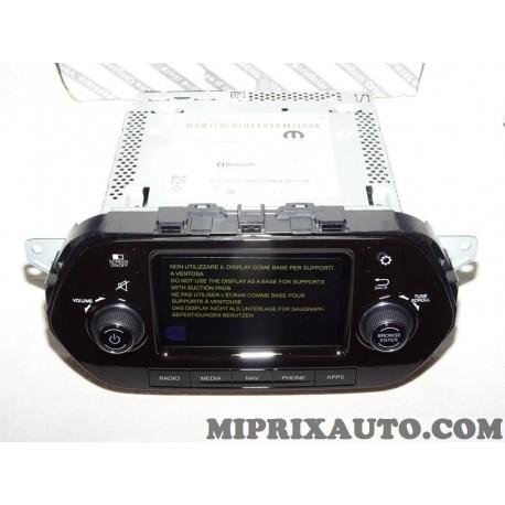 Autoradio poste radio navigation 5 GPS double tuner avec code Fiat Alfa Romeo Lancia original OEM 735693753 pour fiat tipo 2 II