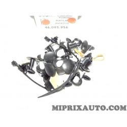 Pack agrafes attache fixation porte arriere Fiat Alfa Romeo Lancia original OEM 46095956 pour fiat ducato 3 III