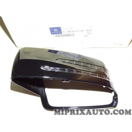 Coque retroviseur noire avec clignotant Mercedes Benz original OEM 24681101009696