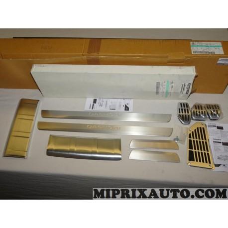 Pack sport seuils de portes seuil de coffre kit pedalier boite manuelle Nissan Infiniti original OEM KE4604ES01 KE460-4ES01 pour