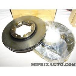Paire disques de frein avant 305mm diametre ventilé Nissan Infiniti original OEM 40206VB000 40206-VB000 pour nissan patrol Y61