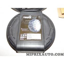 Paire chaines neige Thule CD9 Nissan Infiniti original OEM 075 pour pneus 185/60/16 205/55/15 185/55/16 215/50/15 205/50/16 215/