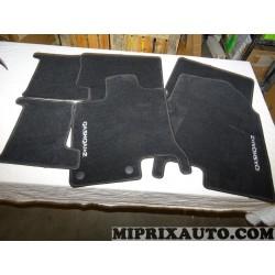 Ensemble 6 tapis de sol Nissan Infiniti original OEM KE745EY001 KE745-EY001 pour nissan qashqai +2 JJ10
