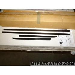 Kit 4 baguettes moulure de porte noir piano Nissan Infiniti original OEM KE6051HA20BK KE605-1HA20-BK pour nissan micra K13 de 20