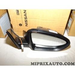 Retroviseur electrique avant droit sans coque Nissan Infiniti original OEM 96301BR72A 96301-BR72A pour nissan qashqai J10
