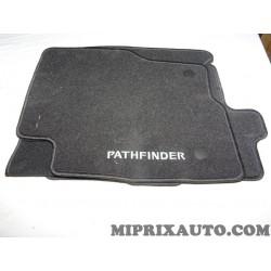 Ensemble tapis de sol avant + arriere Nissan Infiniti original OEM KE7455X501 KE745-5X501 pour nissan pathfinder
