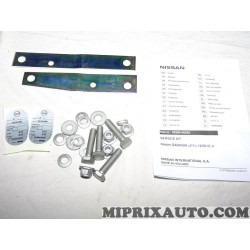Kit platines avec visserie attelage Nissan Infiniti original OEM KE5004E525 KE500-4E525